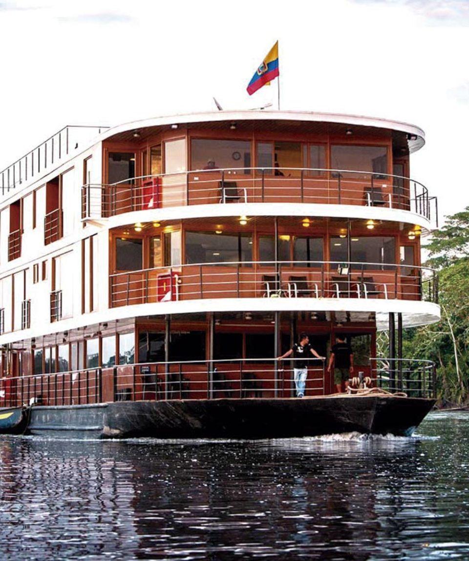 5 Star Luxury River Cruises Through Eurooe: Ecuador Amazon River Cruise