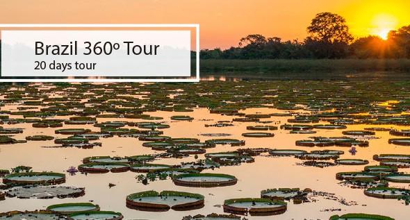 Brazil 360º tour