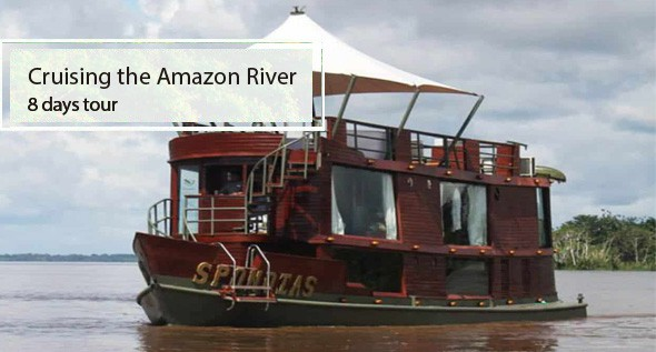 Crusing the Amazon River