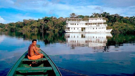 cruises on the amazon river