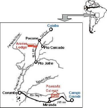 aras map
