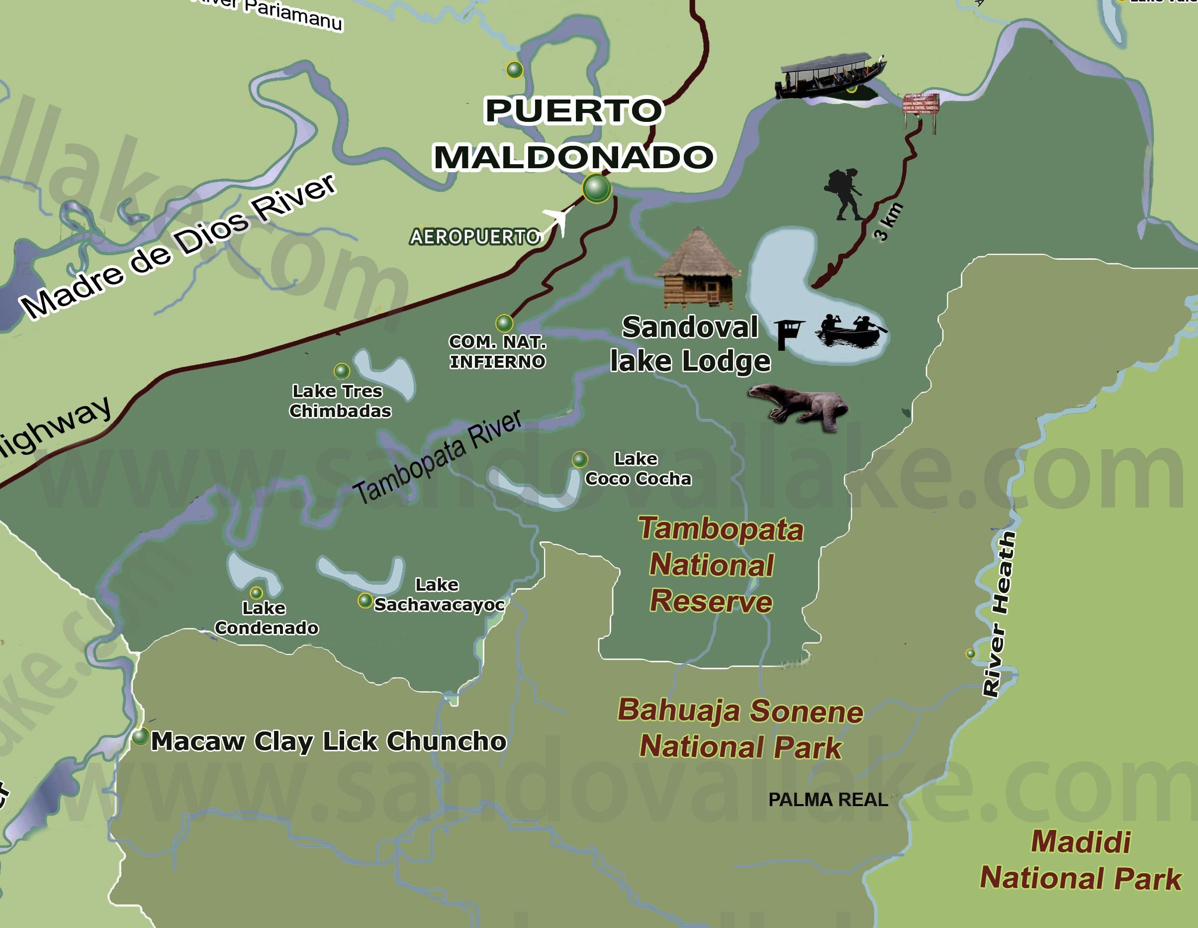 sandoval-lake-lodge-map