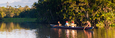 small boat amazon river cruises