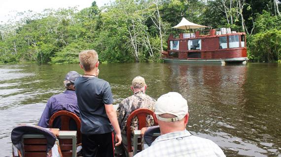 Peru Amazon cruise