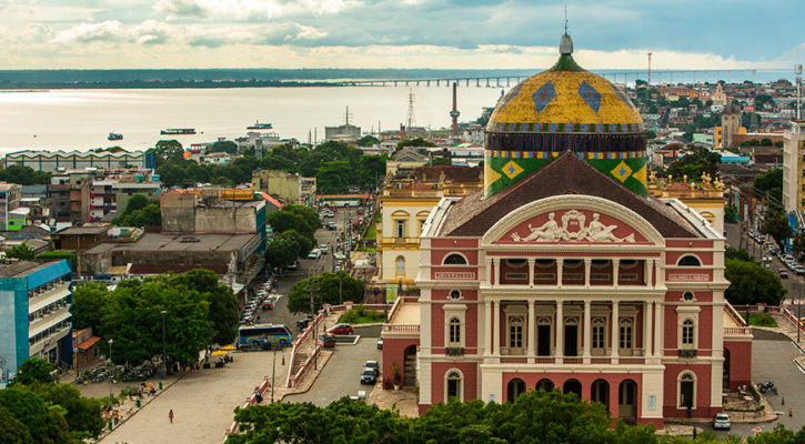 Across the continent from Iquitos to Manaus
