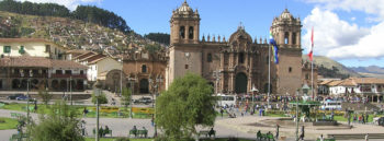 Cusco Peru Central Church