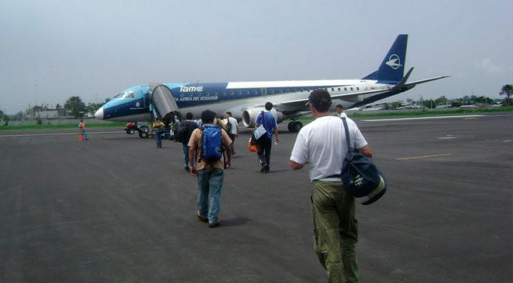 Flights to different regions