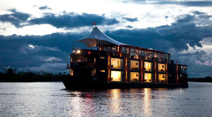 Luxury Amazon cruises in Ecuador, Peru, Brazil or Bolivia