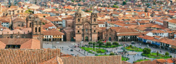 Peru Cusco city