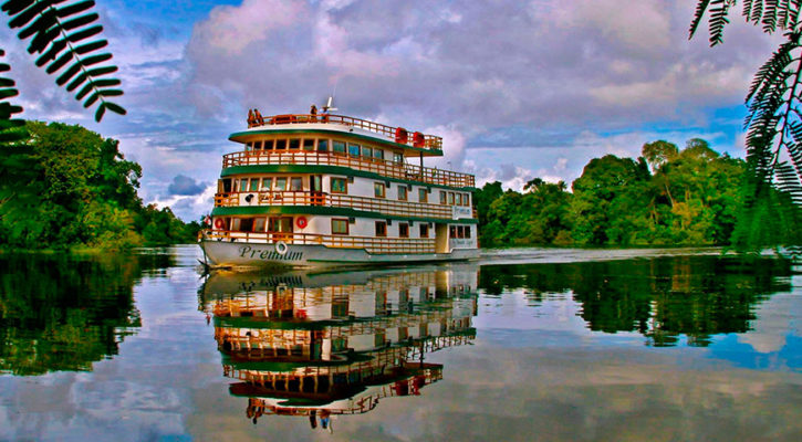 Top cruising routes in the Amazon