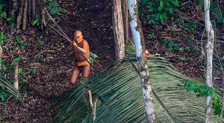 Un-contacted tribes of the Amazon