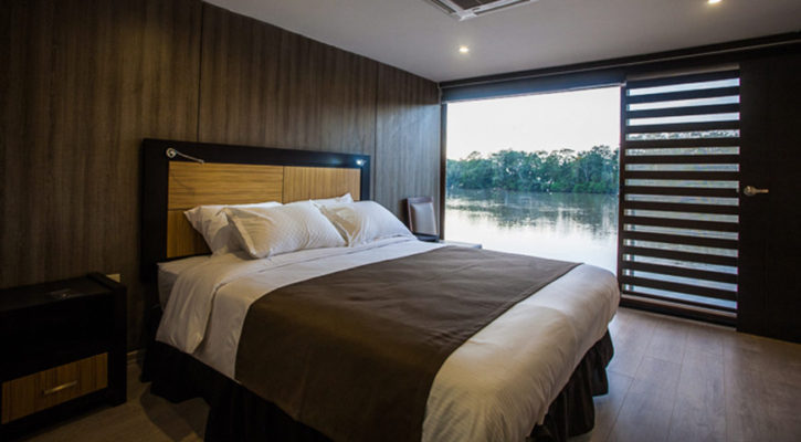What is the cost of expedition cruising in the Amazon River?