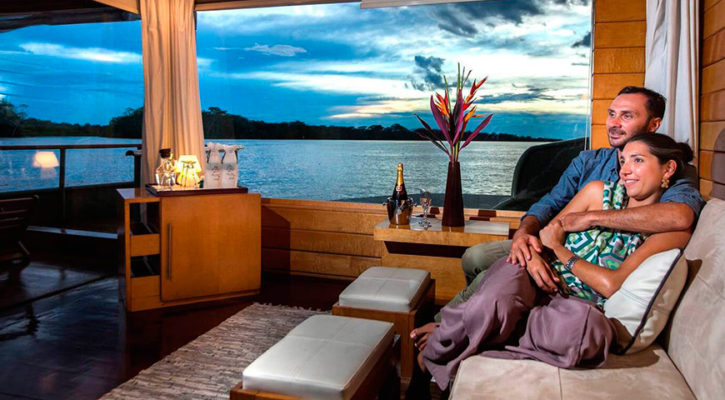 How to make the most of your honeymoon on a luxury Amazon cruise