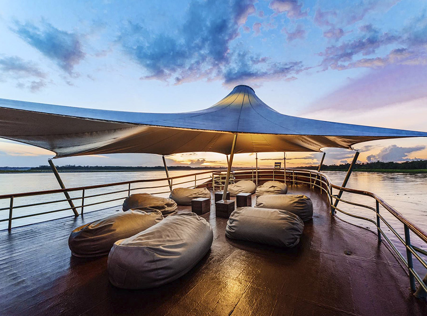 RF Expeditions Amazon Cruise | Terrace
