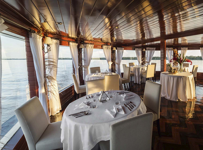 RF Expeditions Amazon Cruise | Dinning Area