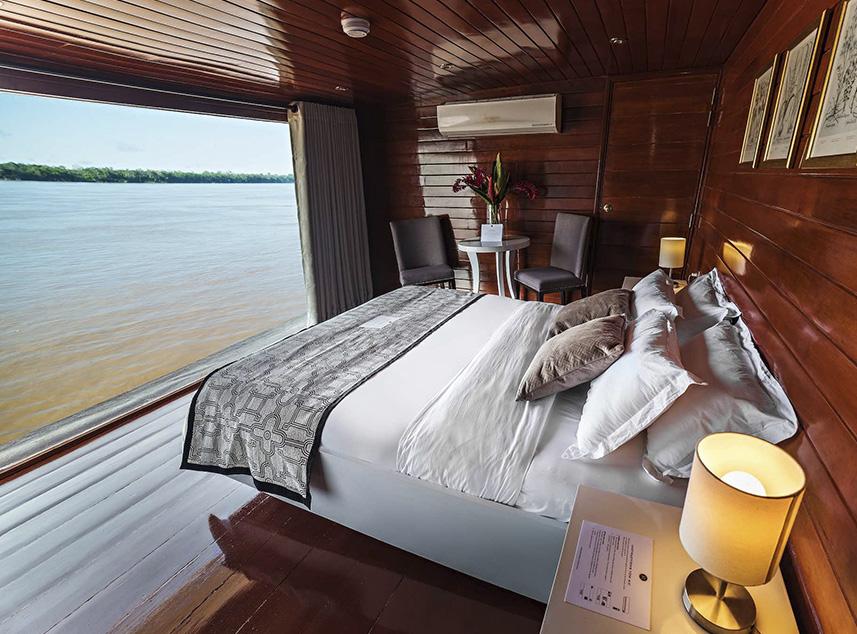 RF Expeditions Amazon Cruise | Matrimonial Cabin