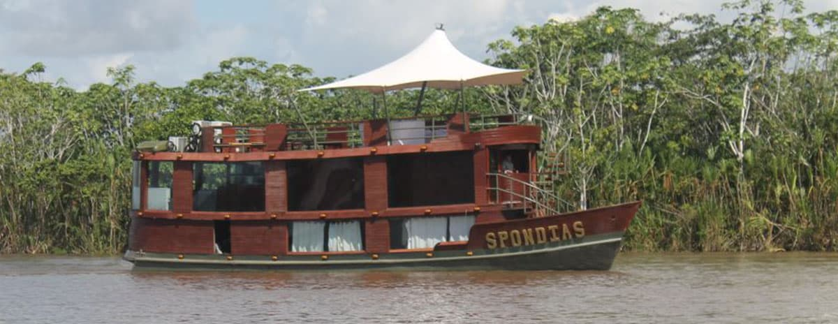Spondias Amazon Cruise