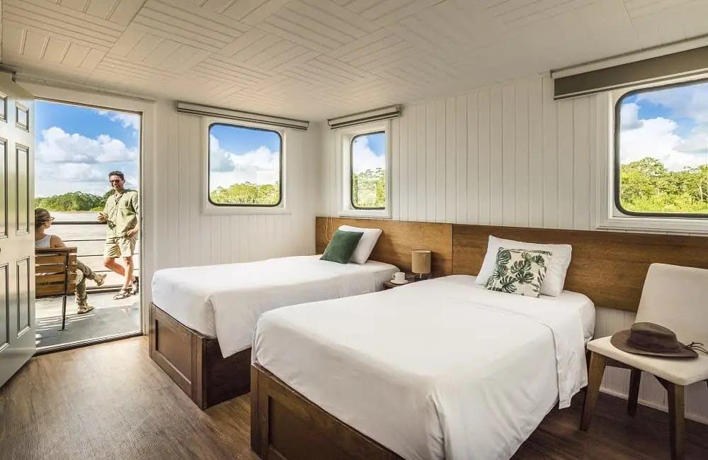 Bedroom  La Perla   Amazon Cruise