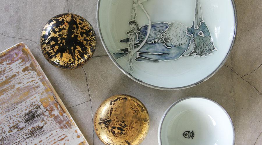 Aqua Nera Gaya Ceramics