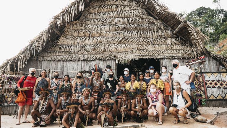 Untamed Amazon local communities